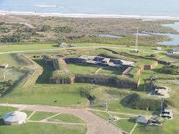 Fort Morgan Aerial View