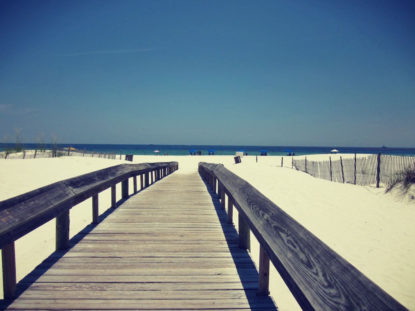 Orange Beach Walkway