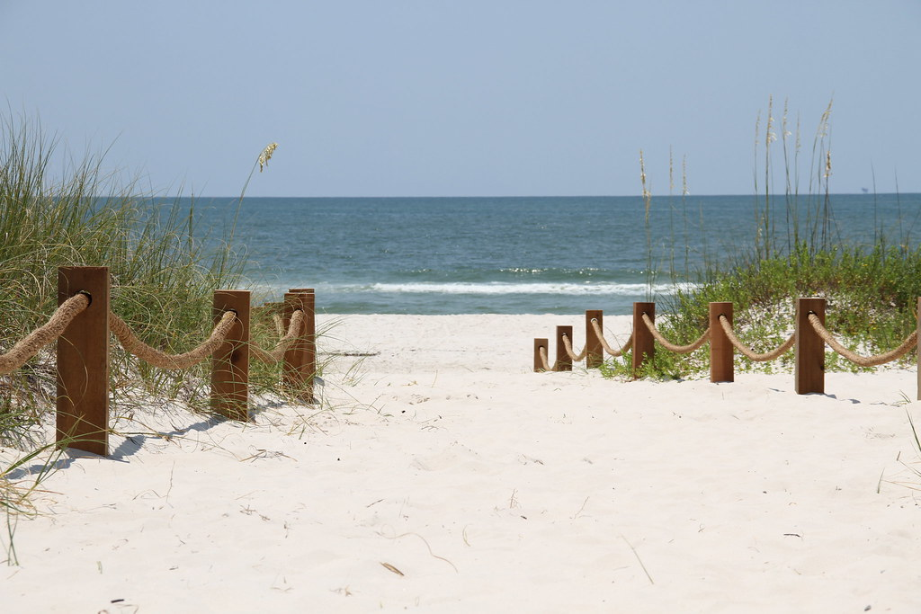 Alabama Coast Beach Walkway